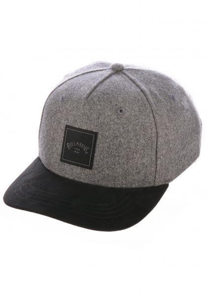 Billabong Caps Stacked Boy greyheather vorderansicht 0567211
