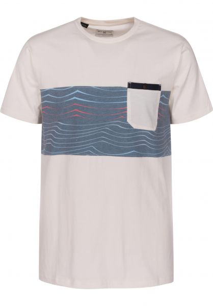 Billabong T-Shirts Tribong salt Vorderansicht
