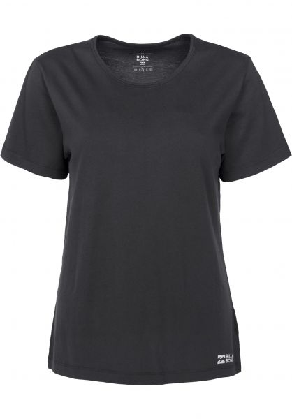 Billabong T-Shirts Essential offblack Vorderansicht