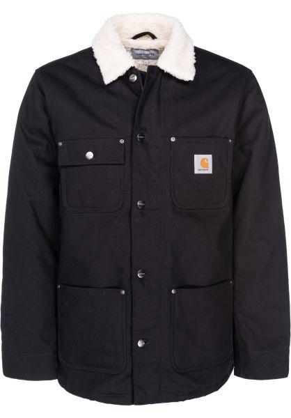 Vestes Pour Titus D'hiver Coat En Homme Carhartt Black Wip Fairmount q01SAf
