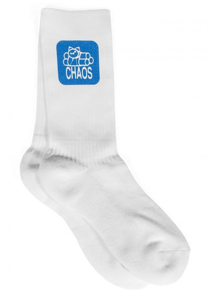 Transworld Socken 411VM Chaos white vorderansicht 0631667