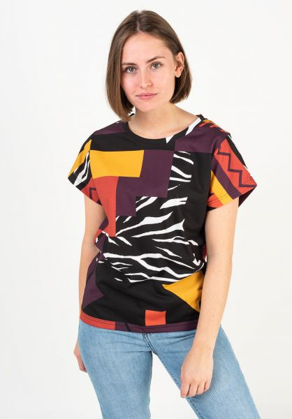 iriedaily T-Shirts Rudy burned vorderansicht 0322266