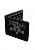 Thrasher-Portemonnaie-Skate-Goat-Leather-black-Vorderansicht