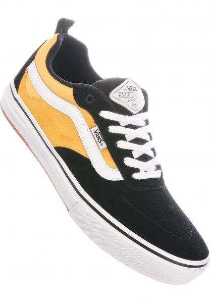 Vans Alle Schuhe Kyle Walker Pro gold-black vorderansicht 0603976