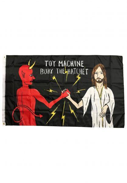 Toy-Machine Verschiedenes Bury The Hatchet Flag multicolored vorderansicht 0972495