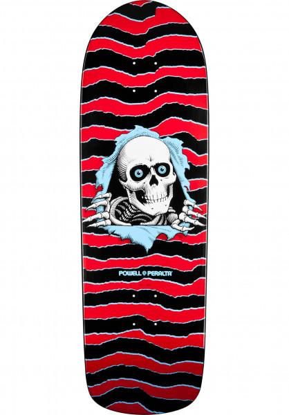 Powell-Peralta Skateboard Decks Oldschool Ripper red-black Vorderansicht