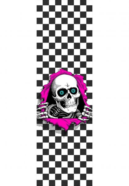 Powell-Peralta Griptape Ripper checkered Vorderansicht