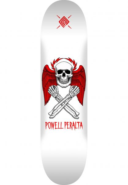 Powell-Peralta Skateboard Decks Halo Bolt Popsicle white vorderansicht 0261182
