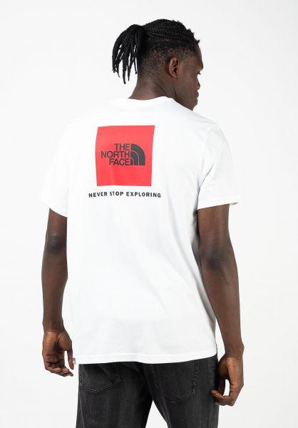 The North Face T-Shirts Redbox tnfwhite vorderansicht 0320628