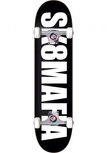 Sk8Mafia Skateboard komplett OG Logo black vorderansicht 0161262