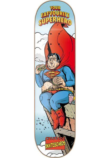 Cruzade Skateboard Decks Your Favorite Superhero 2 multicolored vorderansicht 0260981