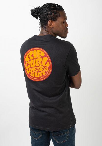 Rip Curl T-Shirts Passage black vorderansicht 0321546