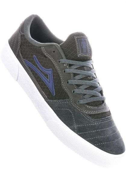 Lakai Alle Schuhe x Girl Cambridge Reflective grey-reflective vorderansicht 0604898