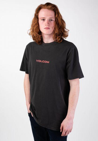 Volcom T-Shirts Little Europe black vorderansicht 0320017