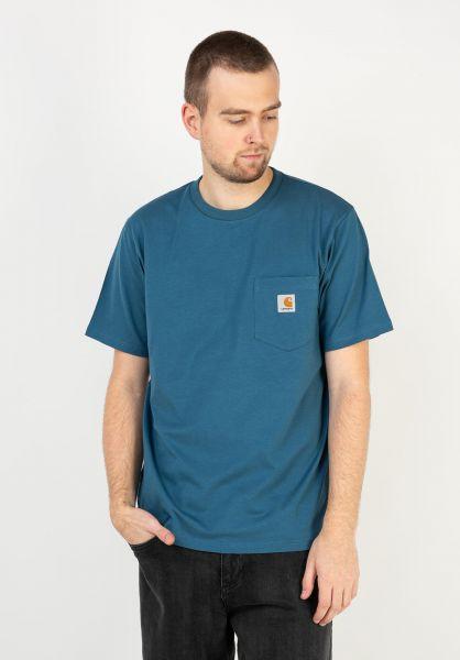 Carhartt WIP T-Shirts Pocket shore vorderansicht 0393365