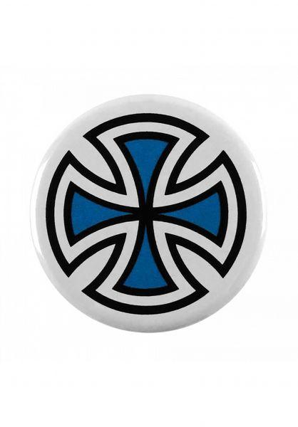 Independent Verschiedenes Cross Pin blue Vorderansicht