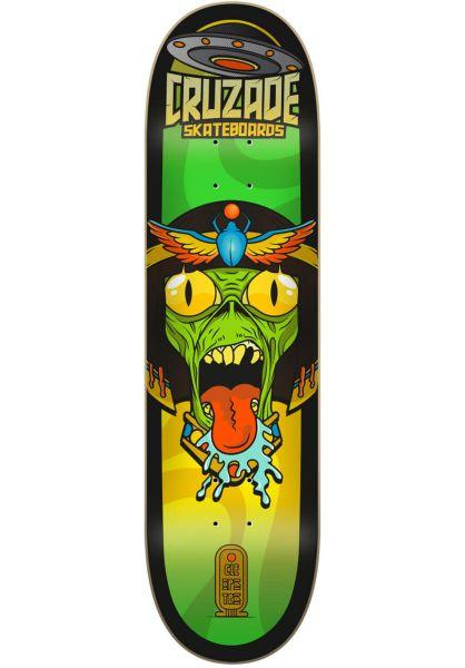 Cruzade Skateboard Decks Conspiracy Double Tail ramses vorderansicht 0266043