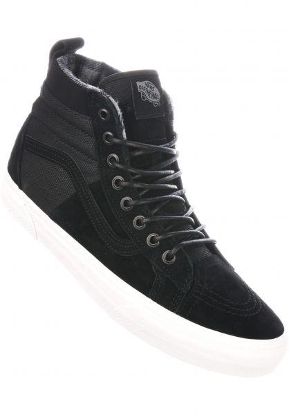 3d2ab9a4429c03 Vans Alle Schuhe Sk8 Hi MTE DX black-flannel Vorderansicht