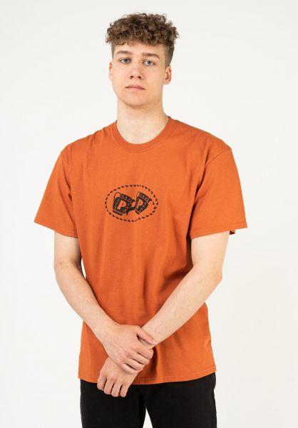 Passport Skateboards T-Shirts Vessels burgundy vorderansicht 0324207