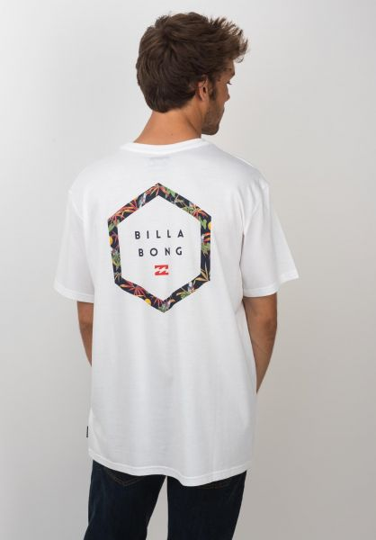 Billabong T-Shirts Access Back white vorderansicht 0398774
