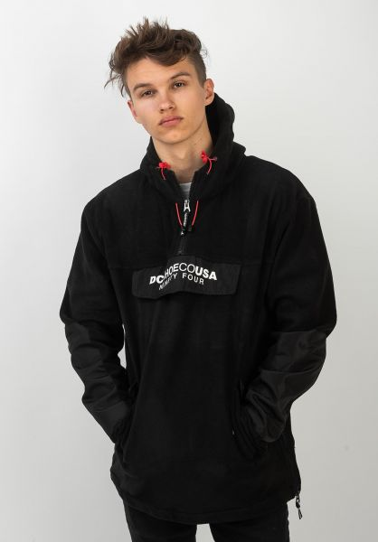 DC Shoes Windbreaker Tagans Hood black vorderansicht 0122585