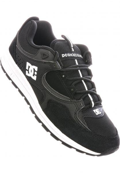 DC Shoes Alle Schuhe Kalis Lite black-white vorderansicht 0603876