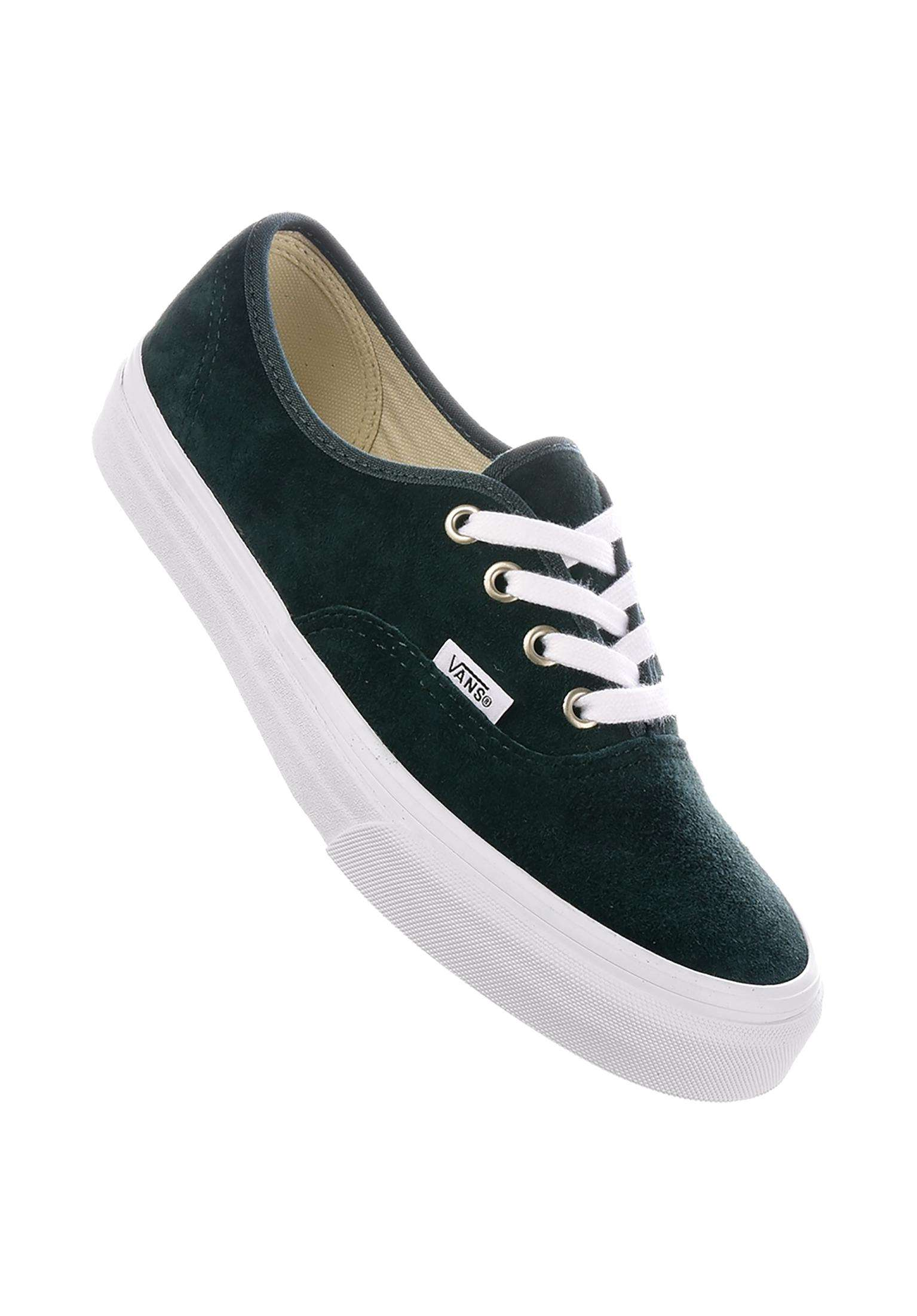 9816deb2535bd4 Authentic Classic Vans All Shoes in darkestspruce-truewhite for Women