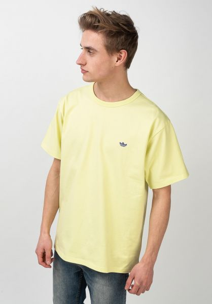 adidas-skateboarding T-Shirts Mini Shmoo yellow-purple vorderansicht 0321735