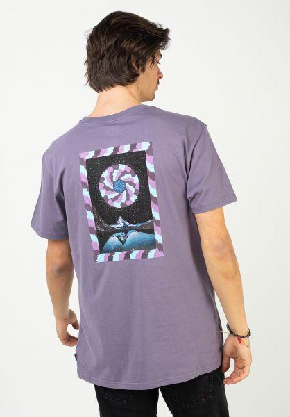 Billabong T-Shirts Night Mind purplehaze vorderansicht 0323782