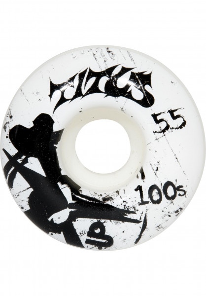 TITUS Rollen BONES-100's-Collabo-Claws-we white Vorderansicht