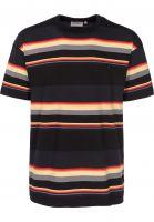 Carhartt WIP T-Shirts Sunder sundersripe-black-darknavy Vorderansicht