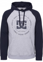 DC Shoes Hoodies Rebuilt Raglan darkindigoheather Vorderansicht