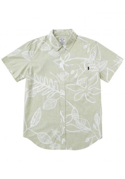 Dark Seas Hemden kurzarm Castleton green vorderansicht 0400923