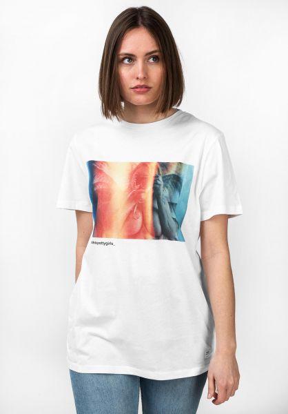 Forvert T-Shirts Sarah white vorderansicht 0320117