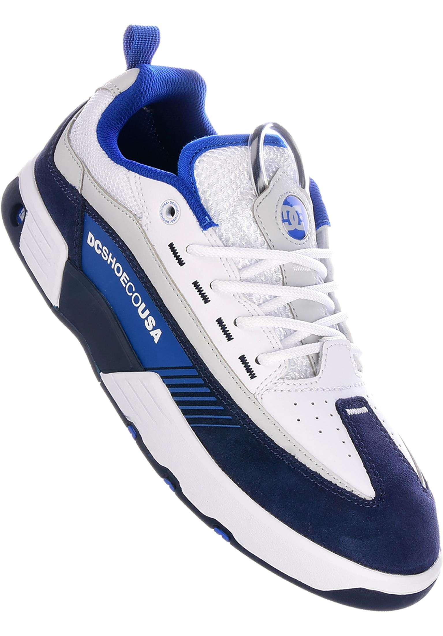 b416eff8be Legacy 98 Slim DC Shoes All Shoes in white-blue-blue for Men | Titus