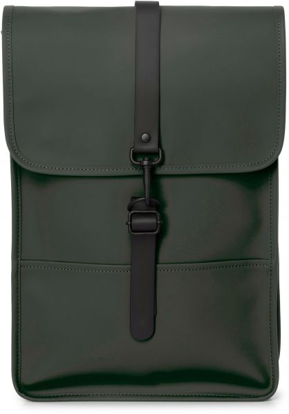 Rains Rucksäcke Backpack Mini green vorderansicht 0881068