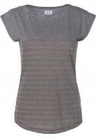 Forvert-T-Shirts-Newport-olive-greymelange-Vorderansicht