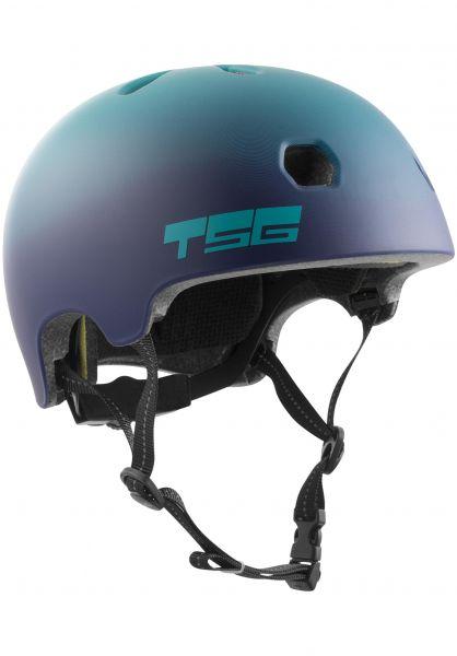 TSG Helme Meta Graphic Design cauma grape vorderansicht 0750124