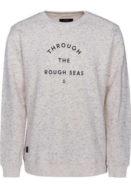 Makia Sweatshirts und Pullover Rough Seas ecru Vorderansicht