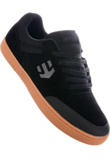 etnies Alle Schuhe Marana x Michelin black-darkgrey-gum vorderansicht 0604316