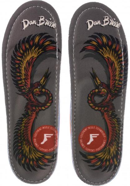 Footprint Insoles Einlegesohlen Kingfoam Orthotics Dan Brisse Falcon blue Vorderansicht