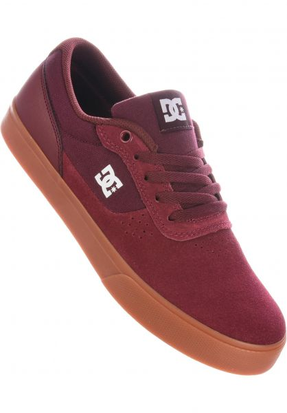 DC Shoes Alle Schuhe Switch S burgundy vorderansicht 0604029