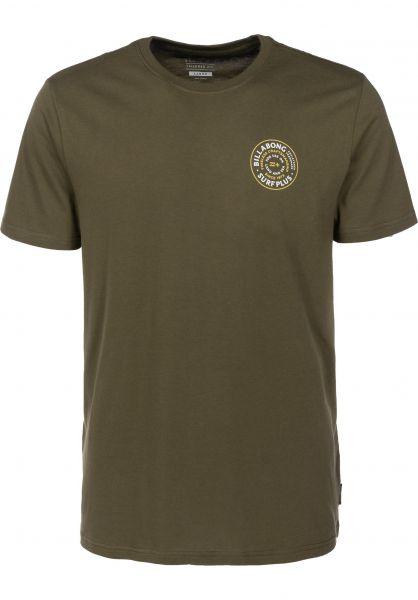 Billabong T-Shirts Mastercraft darkolive Vorderansicht