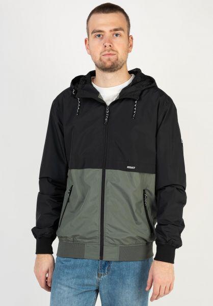 iriedaily Übergangsjacken Resulaner Jacket olive vorderansicht 0504684