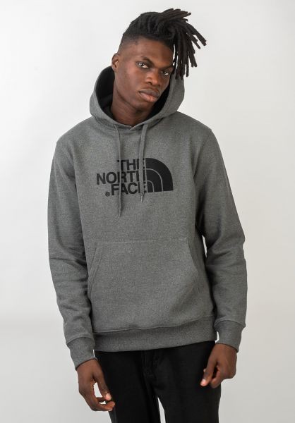 The North Face Hoodies Drew Peak mediumgreyheather vorderansicht 0445531