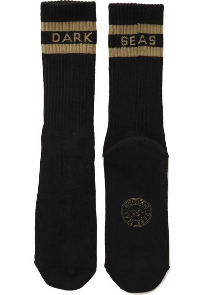 Dark Seas Socken Workup black Vorderansicht