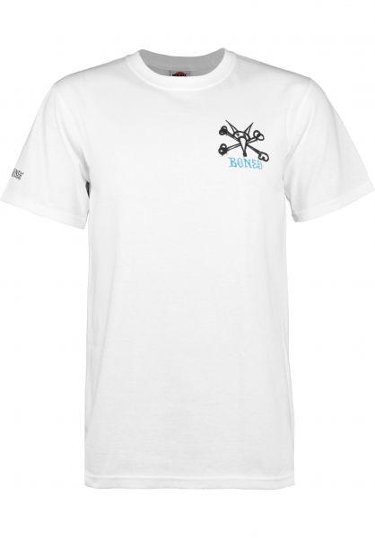 Powell-Peralta T-Shirts Vato Rat Kids white Vorderansicht