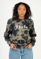 huf-sweatshirts-und-pullover-in-bloom-olive-vorderansicht-0423197