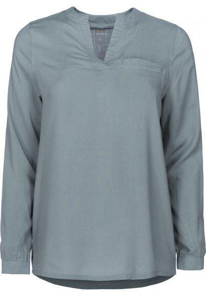 Rules Hemden langarm Melia greyish-green Vorderansicht