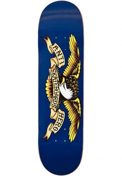 Anti-Hero Skateboard Decks Classic Eagle blue vorderansicht 0118797